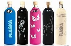 Le Aus Glasflaschen - trinkflasche aus glas mit swarovski elements vickyliebtdich