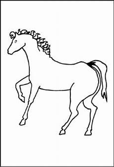 Malvorlage Pferd A4 Pferde Malvorlagen Und Ausmalbilder F 252 R Kinder