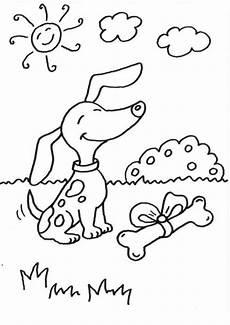 Malvorlage Hund Mit Knochen Kostenlose Malvorlage Hunde Hund Mit Knochen Ausmalen Zum