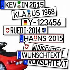 kfz kennzeichen tretauto tretfahrzeug kinderfahrzeug