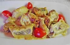 Rezepte Mit Maultaschen - maultaschen in chignon sahne boehnchen chefkoch de
