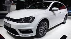 2014 volkswagen golf variant r line exterior and