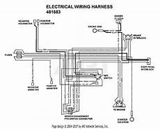 scag sthm 23cv s n 8270001 8279999 parts diagram for electrical wiring harness