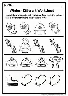 winter worksheets for kindergarten 19961 winter different worksheet preschool and kindergarten preschool crafts