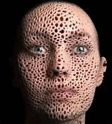 trou peau visage homme sf author mike buckley a gaze of faces