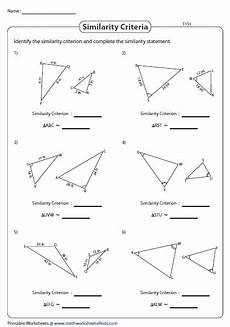 similar triangles sss sas and aa type 1 triangle worksheets similar triangles triangle