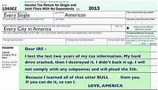 thursday humor the new us tax return zero hedge