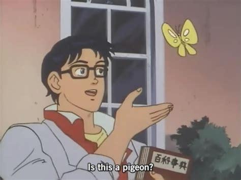 Butterfly Anime Meme