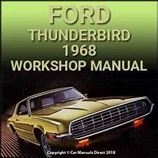 auto repair manual free download 1986 ford thunderbird seat position control ford thunderbird 1968 workshop manual car manuals direct