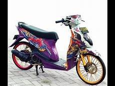Modifikasi Nex by 25 Gambar Modifikasi Motor Suzuki Nex Paling Ok