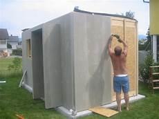 modernes gartenhaus selber bauen microhouse das minihaus projekt
