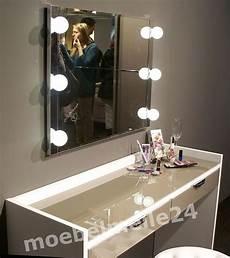 schminktisch mit licht staud sinfonie plus schminktisch frisiertisch wei 223 spiegel