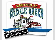 Creole Queen   New Orleans Paddlewheeler Mississippi River