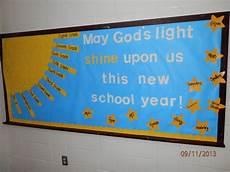 beginning of year bulletin board