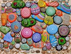 21 rockpainting ideas to create bright accents for garden