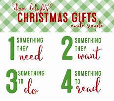 The Four Gifts Dixie Delights