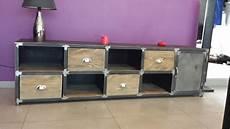 meuble bas pour salon meuble meuble bas de salon meuble bois acier