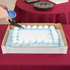 quot 14 quot 5 quot white corrugated half sheet cake bakery box 25 bundle