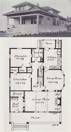 1900s house plans 1908 western home builder no 40b vintage house plans