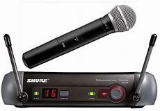micro sans fil professionnel karaoke musique kpm micro de chant shure sans fil
