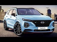 all new hyundai santa fe 2019 suv interior exterior