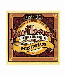 medium guitar strings ernie 2002 earthwood 80 20 bronze medium acoustic guitar strings buy ernie 2002