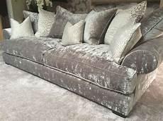 Sofa Samt Grau - silver sofas lbz 3077 silver furniture home corner