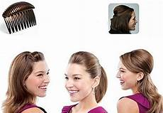 how to use bump it hair accessory 1pc black brown charming pompadour fringe bump it up