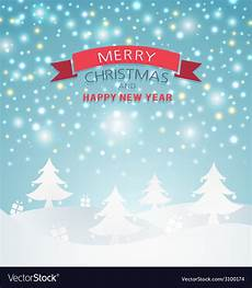magical merry christmas landscape royalty free vector image
