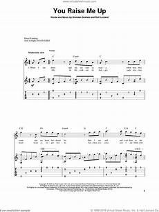groban you raise me up sheet music for guitar solo pdf