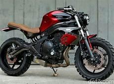 Kawasaki Er6n Modifikasi by Dirt Kawasaki Er 6n Ala Scrambler Produksi Bengkel