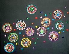Acryl Leinwand Bild Silberstreif Kunst Wandbild Bunt
