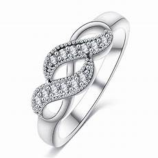 aliexpress com buy 2019 new silver color infinity ring