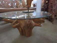 Teak Wurzel Tisch - teak root rustic dining tables other metro by