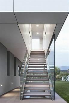 Designs D Escaliers Avec Garde Corps En Verre Archzine Fr