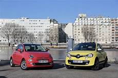 Comparatif Vid 233 O Fiat 500 Restyl 233 E Vs Renault Twingo