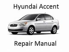 auto air conditioning service 2008 hyundai accent engine control hyundai accent 2005 2010 only repair manuals