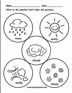 weather worksheets to color 14683 the weather worksheets for preschools