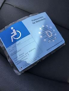 parkausweis für behinderte unbefristet blauer parkausweis gt verl 228 ngerung