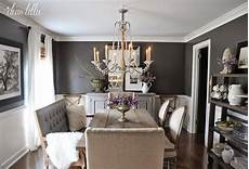 kendall charcoal in our dining room dear lillie picture this dining room paint dining