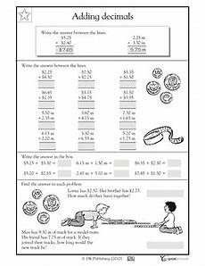 money worksheets grade 5 2158 what is 5 25 2 40 this money and measurement math worksheet gives your child practice addin