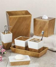 bad accessoires bambus accessoires f 252 rs bad die eine einheitliche badeinrichtung
