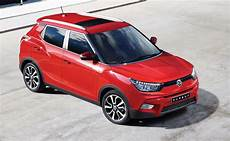 Ssangyong Launches Tivoli Suv In Korea Will Get 1 6l