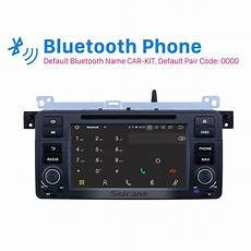 airbag deployment 2002 bmw 3 series navigation system 7 inch android 9 0 gps navigation radio for 1998 2006 bmw 3 series e46 m3 with hd touchscreen