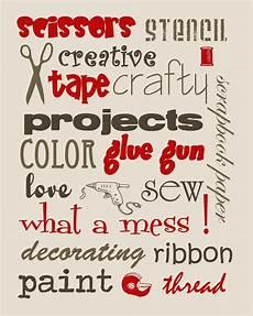 free craft room printables risenmay