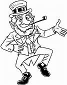 St Patrick's Day Coloring Page & Book