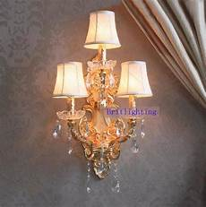 modern wall l crystal home large sconce gold finish wall sconces led crystal wall light with