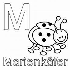 Ausmalbilder Buchstaben M Kostenlose Malvorlage Buchstaben Lernen M Wie Marienk 228 Fer