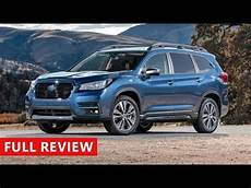 2019 subaru 7 seater 2019 subaru ascent review best 7 seater suv
