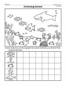 sea animals worksheets for preschoolers 14123 sea animal graph worksheet kindergarten worksheets animal worksheets kindergarten math